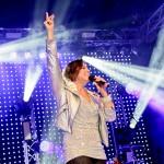 Sie sorgt beim Konzert immer für gute Stimmung: Patricia Gabriela